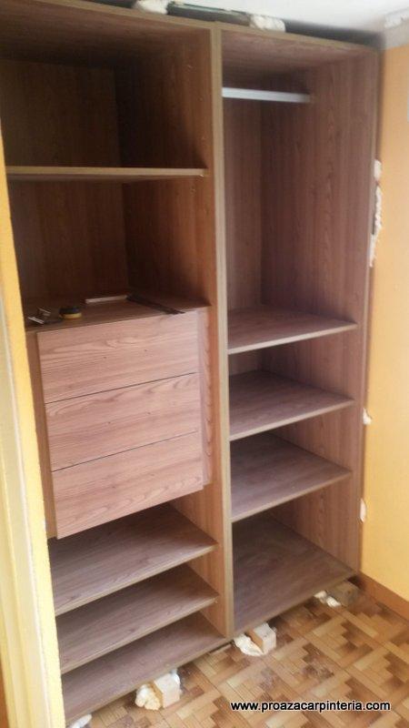 Modulos para armarios empotrados best detalle del - Estantes para armarios empotrados ...